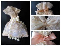 Lace & More - pearls or bows