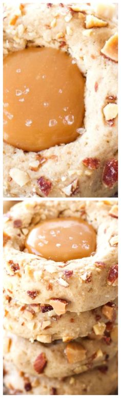 Salted Caramel Almond Thumbprint Cookies ~ Easy, Cookies Are Perfect ...