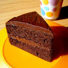 Chocolate cake made without flour, sugar, or dairy. Low carb and gluten-free, of course.