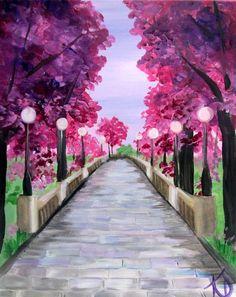 Cherry Blossom Walk