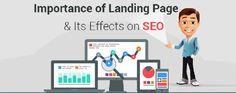 Significance of SEO focused landing pages.