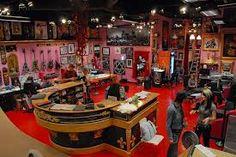 Kat Von D tattoo shop.