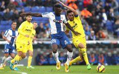 Caicedo en la convocatoria del Espanyol para recibir al Villarreal