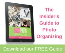 Download our FREE Insider's Guide to Photo Organizing