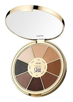 Tarte Rainforest Of The Sea Eyeshadow Palette Vol. II Limited-Edition by Tarte Tarte Eyeshadow Palette, Glitter Eyeshadow Palette, Eyeshadow Base, Makeup Palette, Skin Makeup, Beauty Makeup, Huda Beauty, Tarte Sea, Beauty Glazed