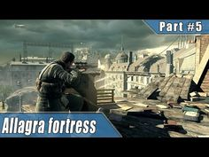 Sniper Elite 4 Walkthrough – Allagra fortress & Target Fuhrer DLC PS4 Pro