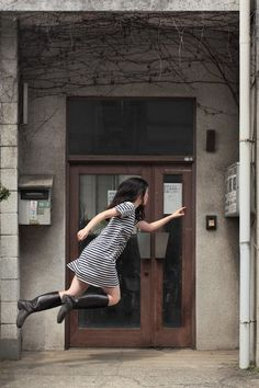 Natsumi Hayashi makes flying look easy. But the self-portraits that seem to show the Toyko photographer levitating above the ground are actually the result of a lot of hard work.