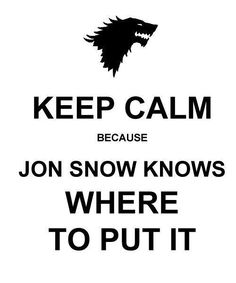 Poor Jon Snow...
