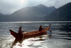 My 26 foot traditional canoe, the Walas-Kwis-gila, carved from a single 500 year old log.  #native  #indian #aboriginal #firstnations  Source: www.davidneel.com