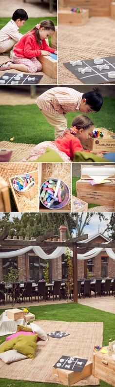 Genius ways to entertain children at your wedding