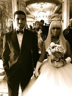 I wish they would actually get married. Come'on Nicki Dammit he loves you. Why do you gotta play hard to get?