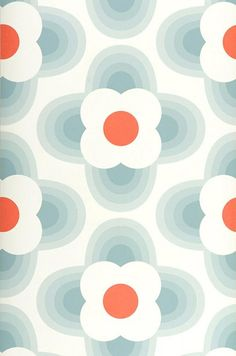 Wallpaper Selene grey blue