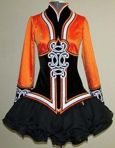 *Kirations*Irish Dance Solo Dress Costume*