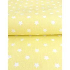 č.2822 Bílé hvězdy na žluté