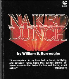Naked Lunch Paperback by William S. Burroughs  by NelliesCupboard