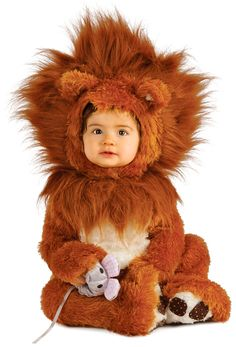 Baby And Toddler Lion Cub Costume - Baby Costumes