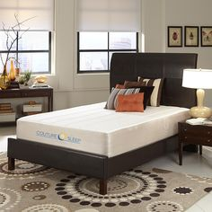 CoutureSleep 12 Inch Solis Gel Memory Foam Mattress - Queen * Be sure to check out this awesome product. (This is an affiliate link) #HomeDecorIdeas
