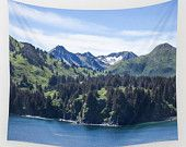 Mountain Tapestry, Scenic Tapestry, Photo Tapestry, Large Wall Decor, Nature Tapestry, Large Wall Art, Wall Hanging, Mountain Wall Art,