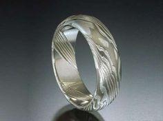 Samurai-Styled Rings - James Binnion Uses Ancient Japanese Metal Art to Create Wedding Bands (GALLERY)
