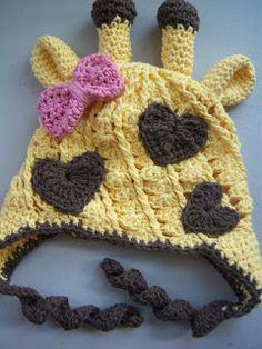 Free Crochet Pattern Giraffe Hat : 1000+ ideas about Giraffe Crochet on Pinterest Amigurumi ...