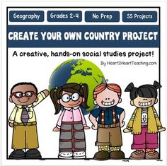Create-Your-Own-Country-1265397 Teaching Resources - TeachersPayTeachers.com