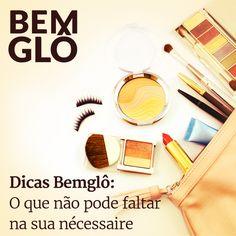O Dicas Bemglô de hoje fala sobre alguns produtos que são essenciais para sua nécessaire.  Vem com a gente e saiba o que você não pode deixar de ter, vem! #bemglo #dicasbemglo #necessaire