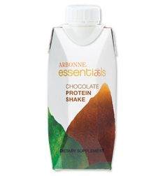Arbonne Chocolate Protein Shakes, ready to serve