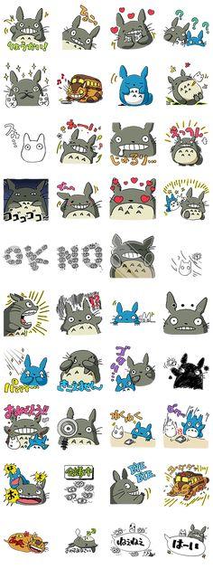 El gatobús, Totoro y el resto de amigos de esta obra maestra. Con diseños originales del productor Toshio Suzuki del estudio Ghibli. ¿Tú también puedes verlos?