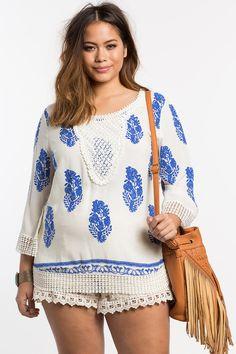 879d6a3743b Plus Size Bohemian Blouse Bohemian Summer Dresses