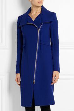 Roland Mouret|Drymus wool-crepe coat|NET-A-PORTER.COM