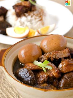 recipe for braised pork belly in soy sauce, a true taste of home-cooked food.Simple recipe for braised pork belly in soy sauce, a true taste of home-cooked food. Recipes With Soy Sauce, Pork Recipes, Asian Recipes, Cooking Recipes, Claypot Recipes, Asian Pork Belly Recipes, Hawaiian Recipes, Taste Of Home, Braised Pork Belly