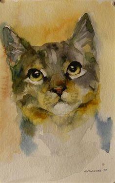 "Daily Paintworks - ""adopt81"" - Original Fine Art for Sale - © Katya Minkina"