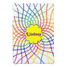 Monogrammed Rainbow Polka Dots Mini iPad Case iPad Mini Cases you will get best price offer lowest prices or diccount couponeDeals          	Monogrammed Rainbow Polka Dots Mini iPad Case iPad Mini Cases Review from Associated Store with this Deal...