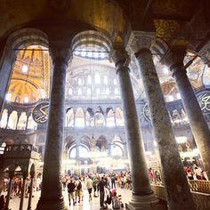 2011, Κωνσταντινούπολη, μέσα στην Αγία Σοφία