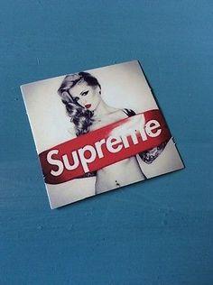 Supreme Vinyl Sticker
