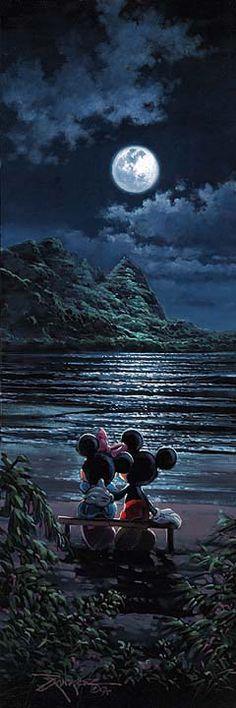 Moonlit Romance ~ by Rodel Gonzalez