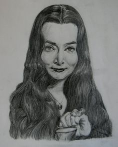 Morticia Addams Morticia Addams, The New Yorker, Female, Art, Wednesday Addams, Character, Caricature, Art Background, Kunst