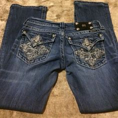 Miss me jeans Size 28 bootcut have been hemmed length is 28 Miss Me Jeans Boot Cut