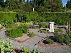 jardin médiéval design