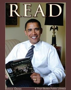 read posters celebrities | Celebrity READ Posters / President Barrack Obama