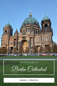 Berlin Cathedral Visitor Guide: Why You Should Go Europe Destinations, Europe Travel Tips, Road Trip Europe, European Vacation, Study Abroad, Amazing Architecture, Cool Places To Visit, Church Interior, Amazing Photography