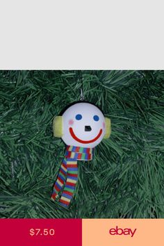 JACK ELF Jack-in-the-Box Hanging Ornament or Antenna Ball Christmas Ornament.