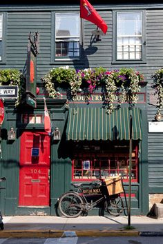 we spent just one night in Newport, Rhode Island on a road trip through New England
