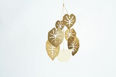 Philodendron Plant Mobile