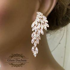 Handmade Bridal Jewellery, Bridal Jewelry Sets, Bridal Necklace, Bridesmaid Earrings, Wedding Earrings, Bridal Accessories, Chandelier Earrings Wedding, Prom Jewelry, Crystal Jewelry