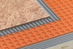 Schluter-DITRA underlayment should go under EVERY new tile floor.  It helps to stop water penetration, allows in-plane movement without cracking the tile and load distribution