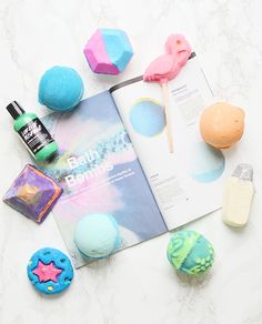 LUSH bath bombs and bubble bars for fall 2015 | oliveandivyblog.com