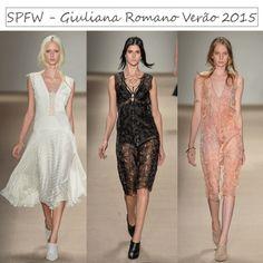 SPFW - Desfile Giuliana Romano - Tendências Primavera/Verão 2015  http://viroutendencia.com/2014/04/03/spfw-primaveraverao-2015-desfiles-do-2-dia/
