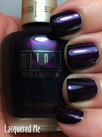 Lacquered Me: New MILANI Color With Impact 2012 Nail Lacquer Shades