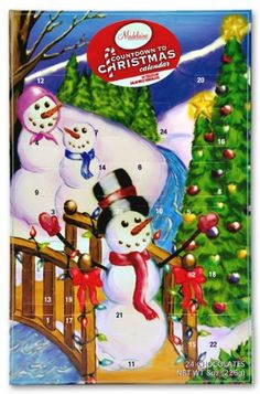 Madelaine Chocolate Christmas by the Creek Countdown Advent Calender 24 Chocolates Net WT 8 oz Days Till Christmas, Christmas Countdown, Little Christmas, Merry Christmas, Christmas Chocolate, Christmas Sweets, Advent Calendar For Toddlers, Chocolate Advent Calendar, Decorative Night Lights